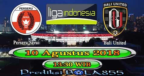 Prediksi Bola855 Perseru Serui vs Bali United 10 Agustus 2018