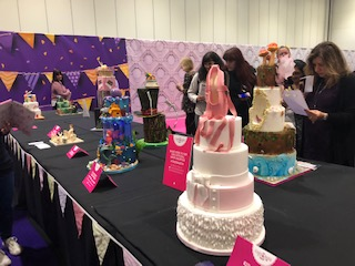 Caroline Makes    : Cake and Bake Show 2018 and Bake with a
