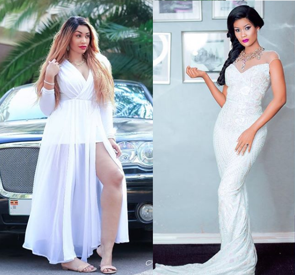 War of words between Diamond Platnumz's lady,Zari Hassan and 'side chick' Hamisa Mobetto