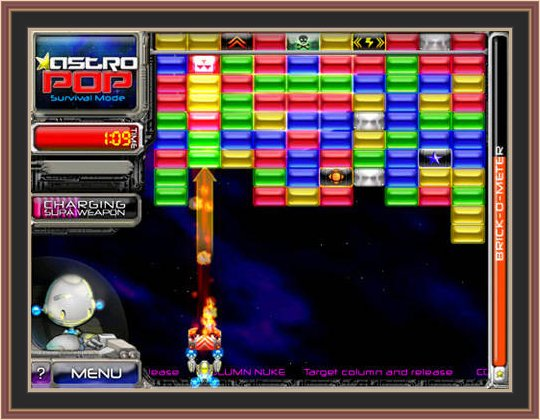 Astropop Deluxe pc Game Play ScreenShot.No 2