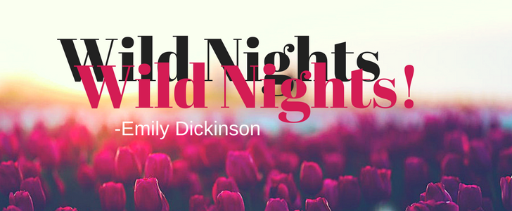 wild nights! wild nights! by emily dickinson