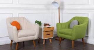 model sofa simpel ruang tamu sempit