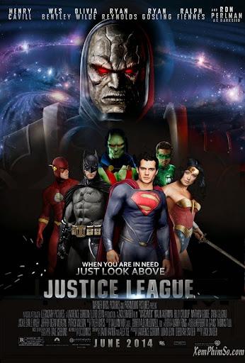 Xem Phim Justice League 2015