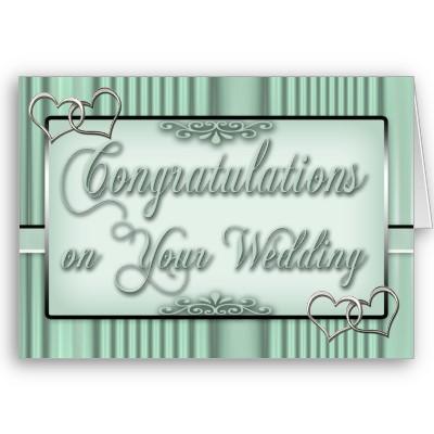 Wedding Gift Messages Congratulations