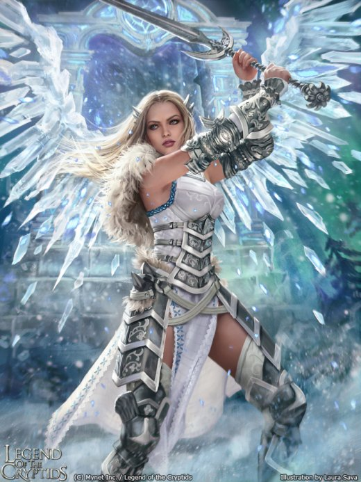 Laura Sava anotherwanderer deviantart arte ilustrações fantasia belas mulheres card game legend of the cryptids