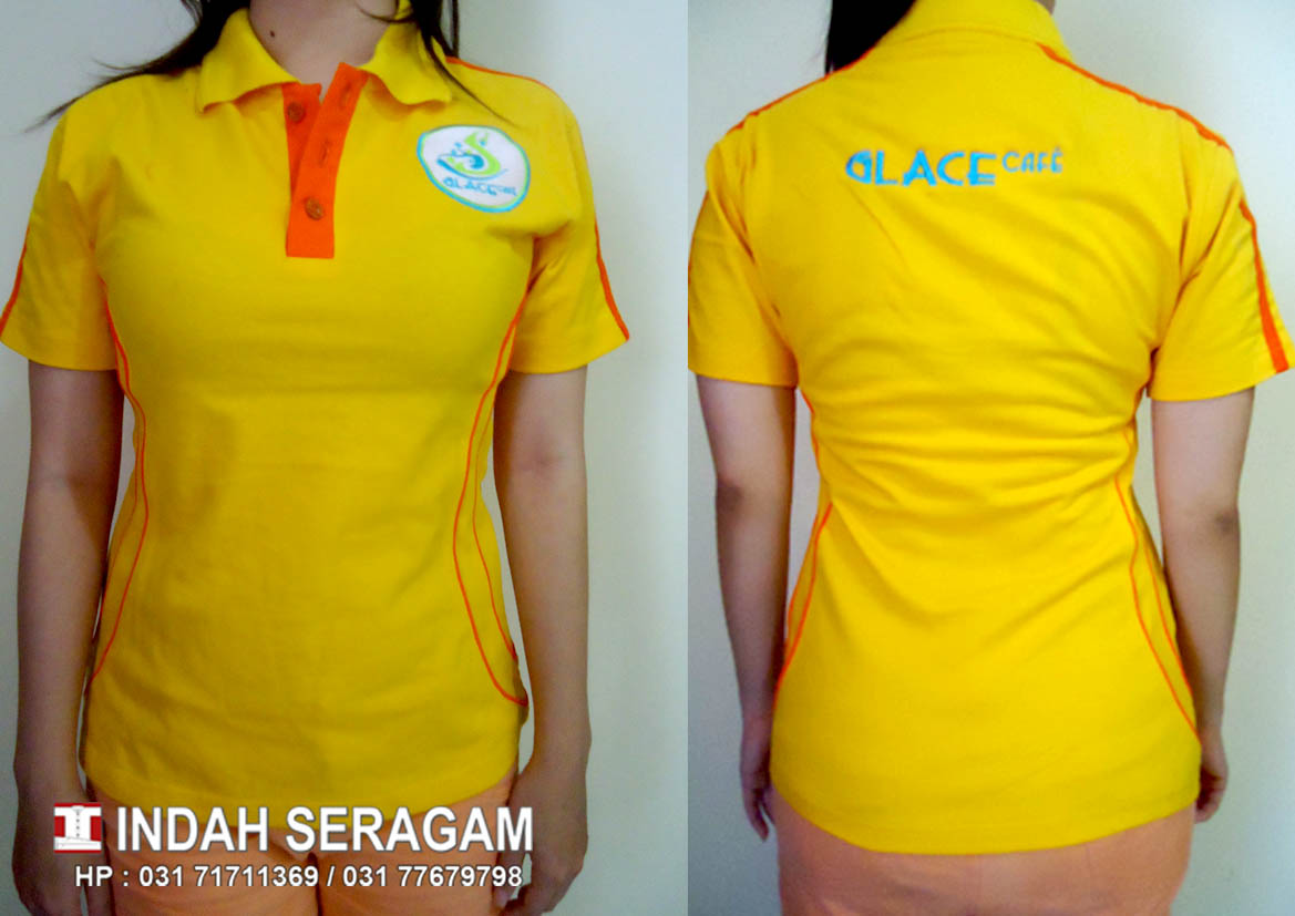INDAH SERAGAM Glace Cafe Uniform