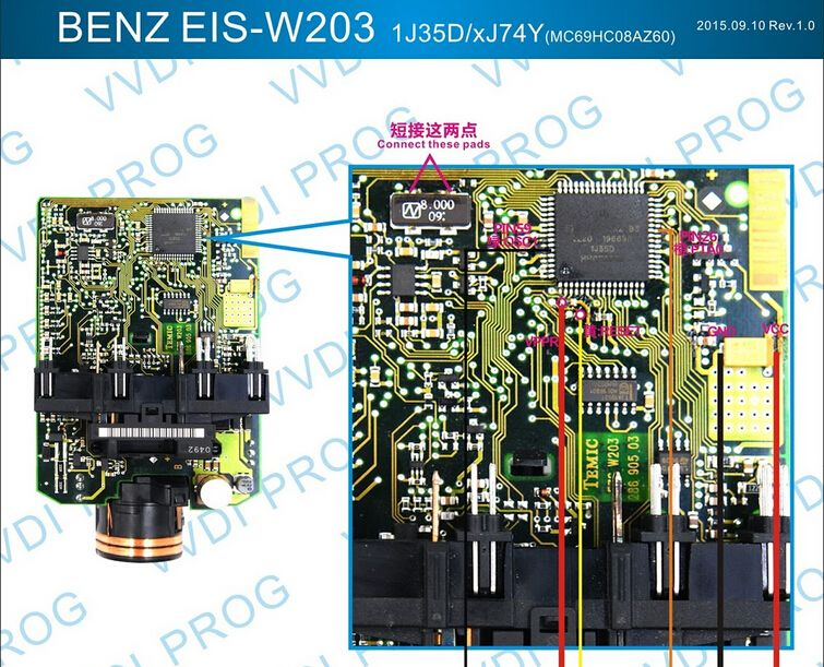 R270 Xprog M Vvdi Prog Read Write W203 Ezs 1j35d Pinout Eobdtool Co Uk
