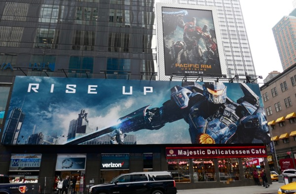 Pacific Rim Uprising Gipsy Avenger billboard NYC