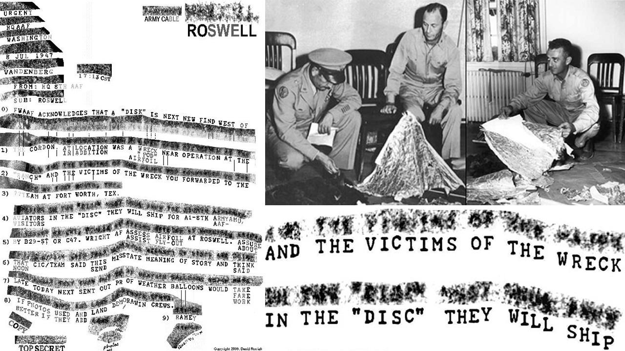¿Este memorándum «Top-Secret» demuestra que un OVNI se estrelló en Roswell?