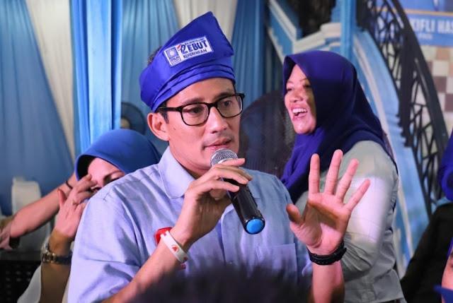 Sandiaga: Era Prabowo-Sandi akan Cicil Utang Hingga Lunas