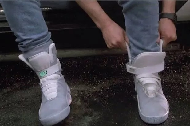 Nike goes 'Back to the Future', releases self-lacing shoe