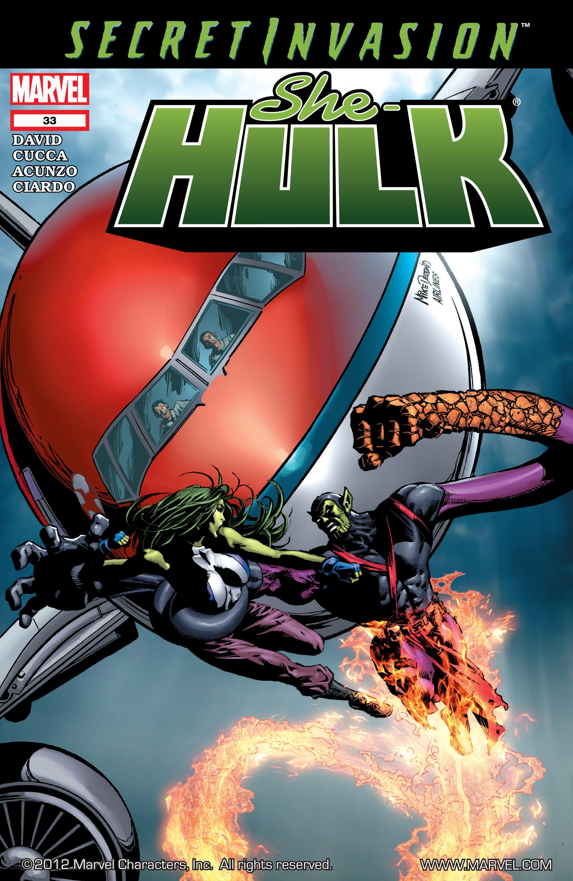 Read online She-Hulk (2005) comic -  Issue #33 - 1