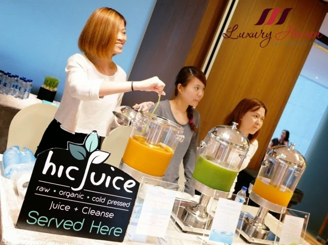 bellabox backstage beauty blogger event hic juice review