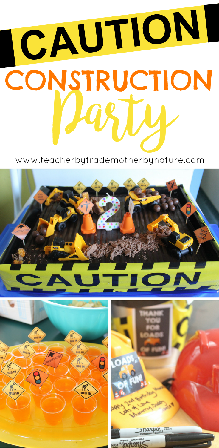 kids parties construction party teacher by trade mother by nature