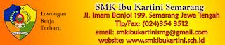 Loker Terbaru SMK Ibu Kartini Semarang