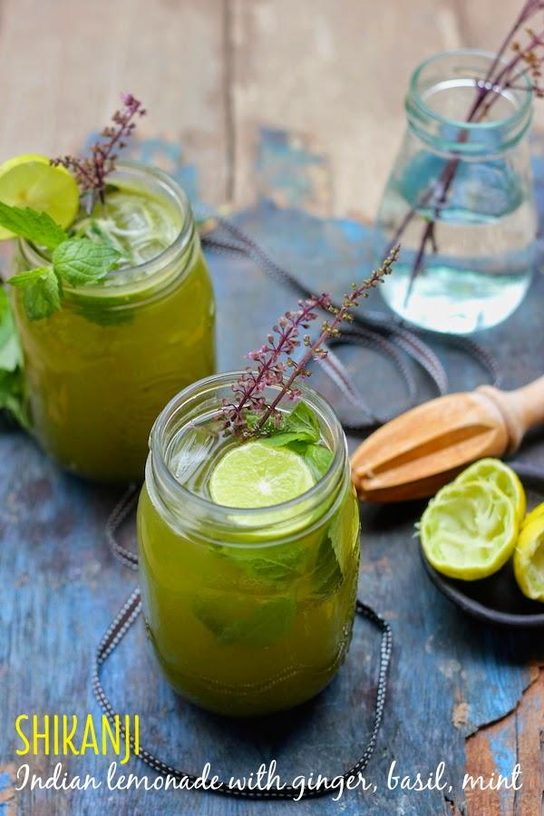 Recipe for Shikanji - an Indian lemonade