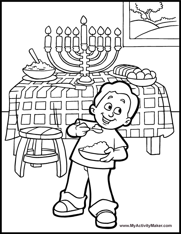 Hanukkah Printable Activities : Let's Celebrate!