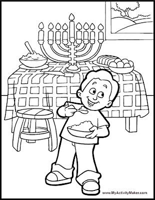 Hanukkah Printable Activities : Let's Celebrate!