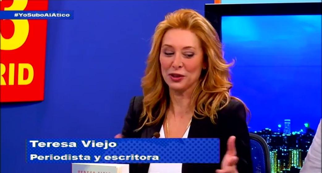 Teresa Viejo Inma Serrano Y Carlos Santos Se Subieron Al Primer