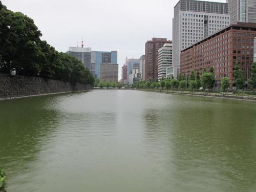 Babasaki Moat Marunouchi Tokyo