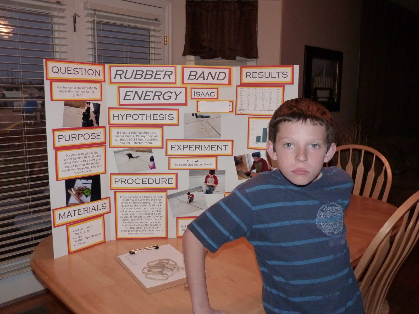 With Six You Get Eggroll: Science Fair Project...DONE!