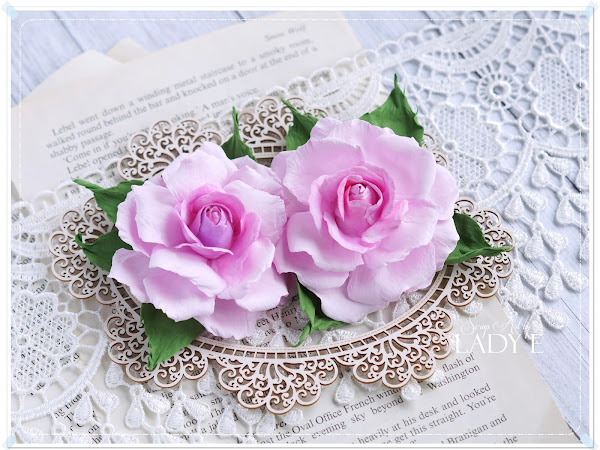 Foamiran Rose Tutorial with Spellbinders Die