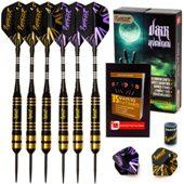 Ignat Games Steel Tip Darts Dark Avenger, 26 Grams