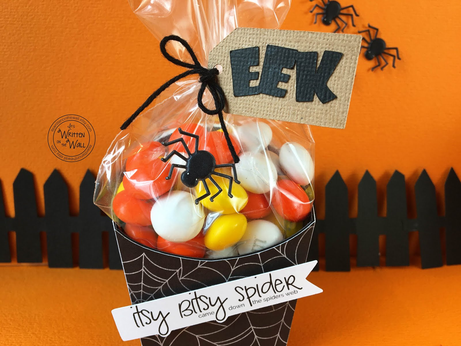 Itsy Bitsy Spider Treat Box