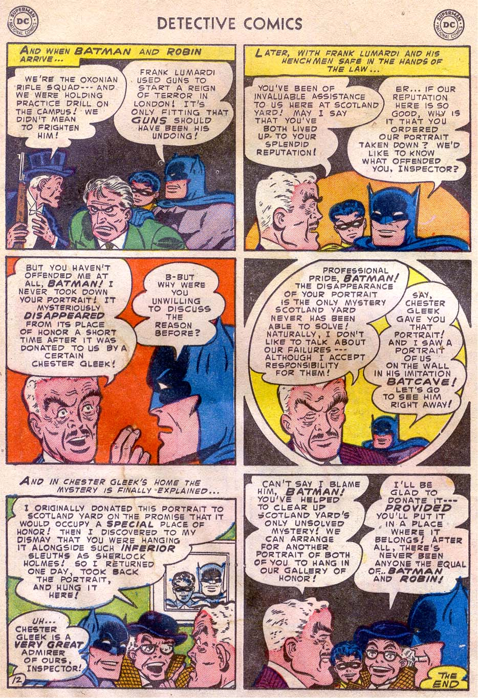 Read online Detective Comics (1937) comic -  Issue #196 - 14