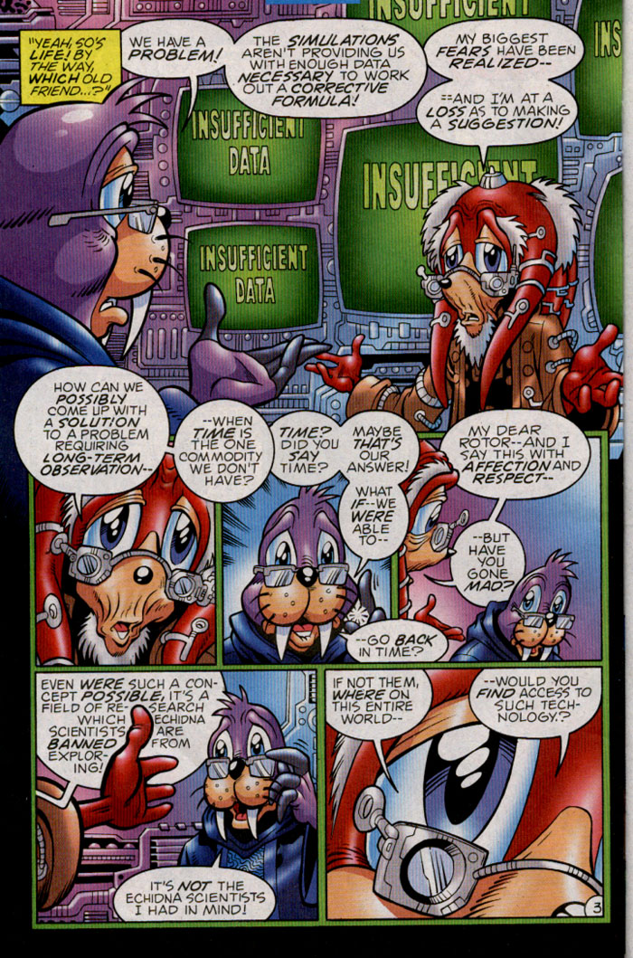 Read online Sonic The Hedgehog comic -  Issue #142 - 21