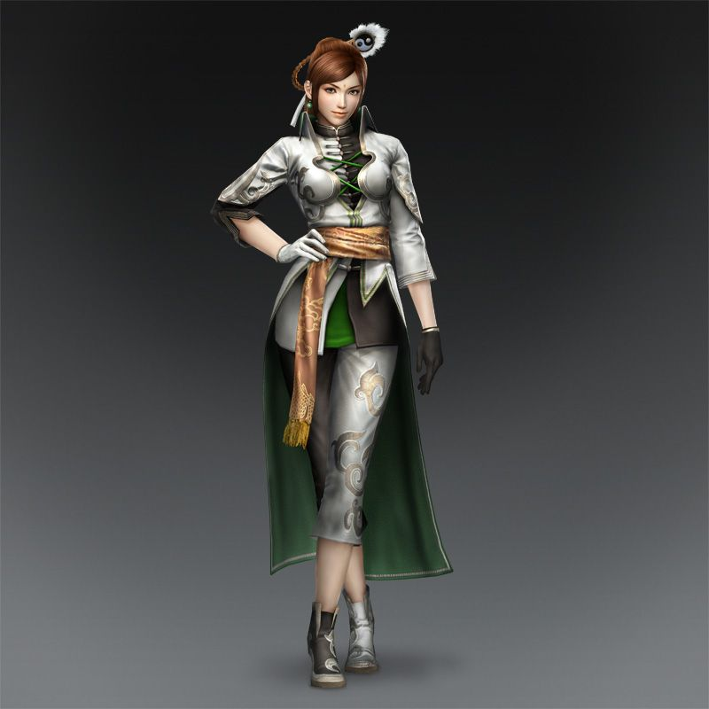 Warriors Orochi 3 Lian Shi: Dark Aquamarine: Wen Yang, A New Warlord For The Jin Clan