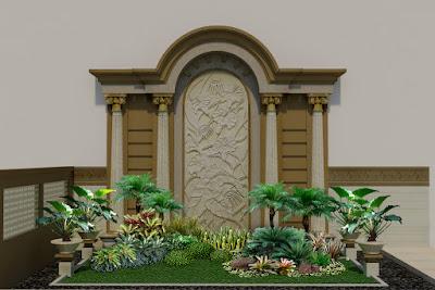 Jasa Tukang Taman Kolam Taman Landscape Minimalis Kota Malang Jawa Timur