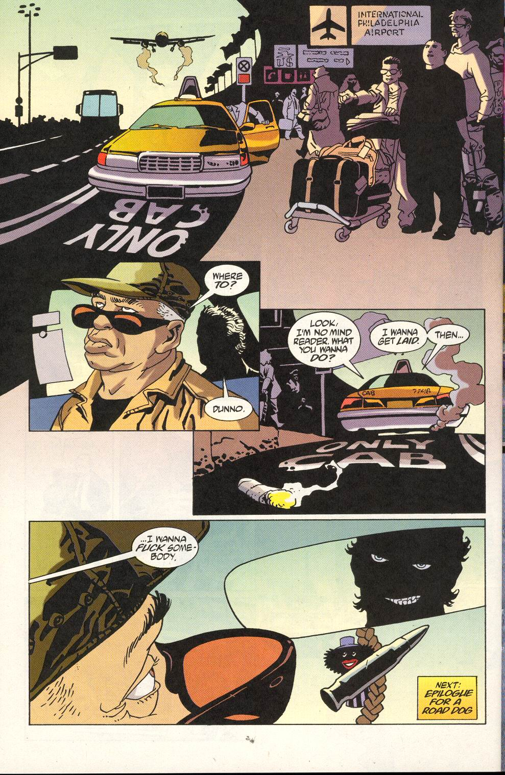 Read online 100 Bullets comic -  Issue #18 - 24