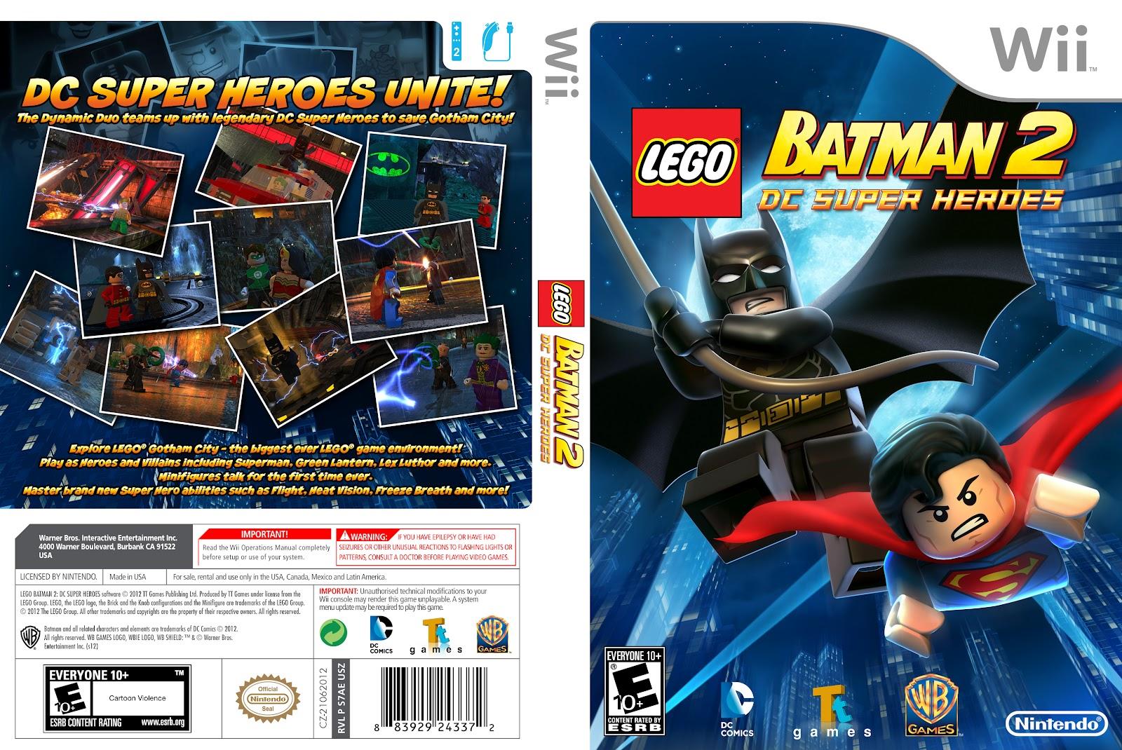 Wii Lego Batman Ntsc