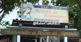 Santuario Anima de Taguapire, Santuario Mama Pancha