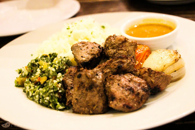 Grilled Lamb of Cafe Mediterranean
