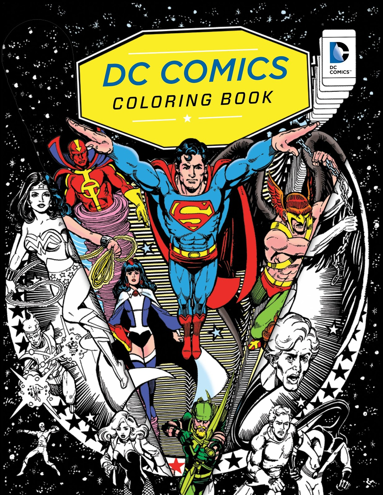 INSIGHT EDITIONS ANNOUNCES DC COMICS COLORING BOOK AND SDCC EVENTS EXCLUSIVES MORE