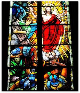 Vitrais da Igreja, Arroio do Meio (RS) - Jesus Ressuscita