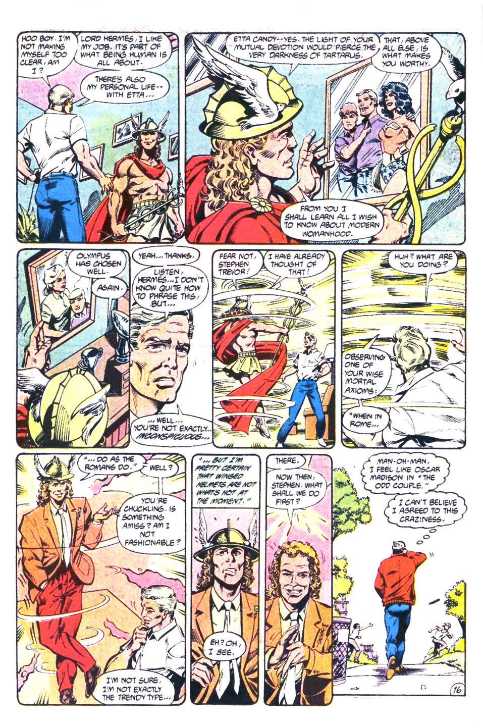 Read online Wonder Woman (1987) comic -  Issue #32 - 17