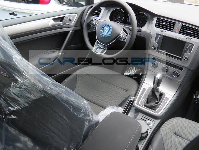 Novo VW Golf Flex 2016  - interior