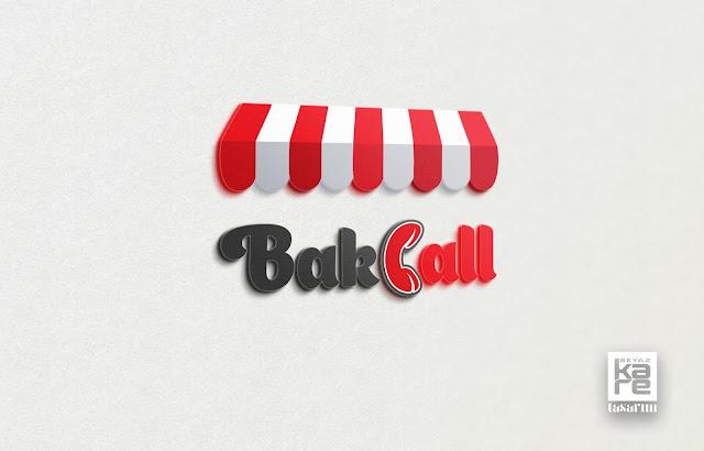 bakkal market logo tasarımı