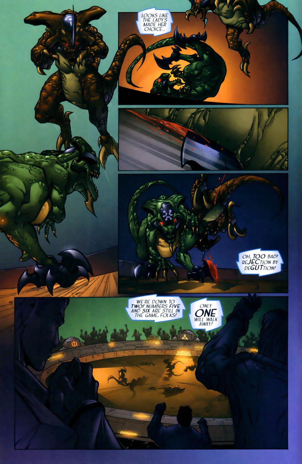 Read online Sigil (2000) comic -  Issue #1 - 10