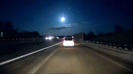 Meteor Explodes over Michigan
