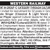 Western Railway Recruitment For Group 'C' Posts in Cultural Quota 2015