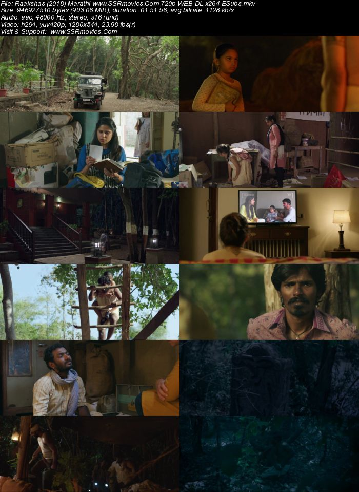 Raakshas (2018) Marathi 720p WEB-DL x264 900MB ESubs Movie Download