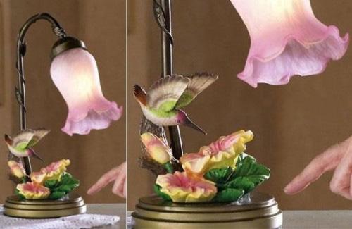 decor 2013 Design Floral Modelos de lâmpadas