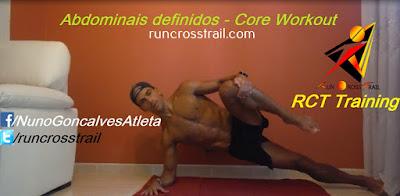 Core Training - Exercícios melhorar rendimento e  prevenção de lesões - Nuno Gonçalves