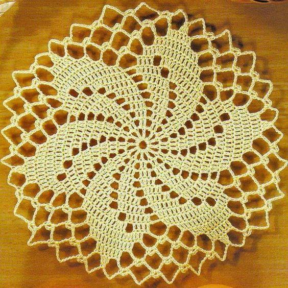 Tecendo Artes Em Crochet Toalhinha Amarela Linda
