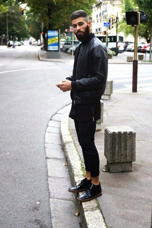 2665612141c Macho Moda - Blog de Moda Masculina  Look All Black Masculino