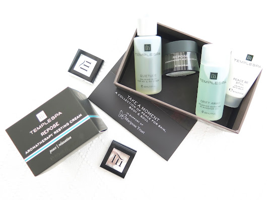Take A Moment with Temple Spa ... | JinksyBeauty